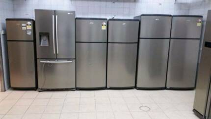 Refurbished with warranty fridges n washers