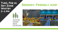 Sensory-Friendly Sky Zone: For Adults w/ Autism & Their Families