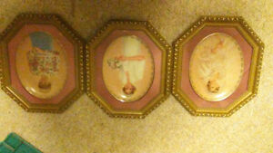 Set of 14 Princess Dianna plates with frames Kingston Kingston Area image 1