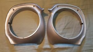 70-77 FORD MAVERICK MERCURY COMET HEADLIGHT BEZELS TRIM RINGS