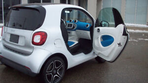 2016 MERCEDES SMART FORTWO CPE..LEATHER..LOW KM..SAFETY + E TEST