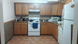 Room available to share in a 2 bedroom basement suite in house