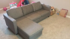 "Jysk ""Casa"" sofa-grey London Ontario image 1"