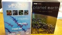 Blue Planet and Planet Earth DVD Collections