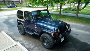 1997 Jeep TJ Sport SUV, Crossover