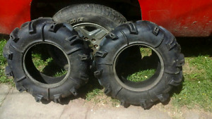 Grizzly quad tires