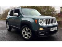 2017 Jeep Renegade 1.6 Multijet Limited 5dr Manual Diesel Hatchback
