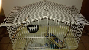 PET CAGE AND SUPPLIES $20 FIRM Peterborough Peterborough Area image 1