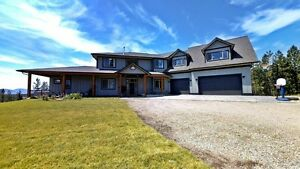 HOME & ACREAGE FOR SALE - 645 St. Annes Rd, Armstrong BC