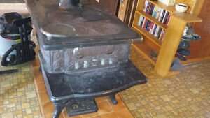 Large Antique Woodstove For Sale
