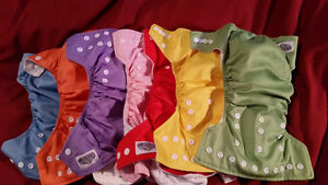 Papoose Cloth Diapers with inserts