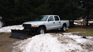 2002 Dodge Dakota Sport Pickup Truck with plow PARTING OUT