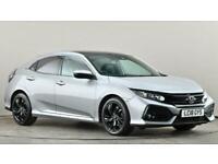 2018 Honda Civic 1.0 VTEC Turbo EX 5dr CVT Auto Hatchback petrol Automatic