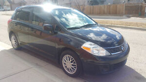 2008 Nissan Versa S Low 91k better in gas than Civic & Corolla