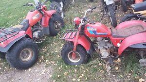 Used 1985 Honda atc 200M & 185s