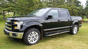 "2016 ""BLACK BEAUTY"" Ford F-150 SuperCrew Lariat 4X4"