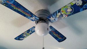 Buzz Lightyear ceiling fan