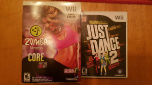 Wii Dance Exercise Games Bundle