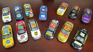 Set of 13 Collectable NASCAR 1:24 Diecasts