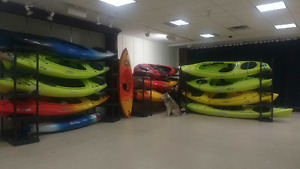 Excess recreation kayaks, Necky, Old Town