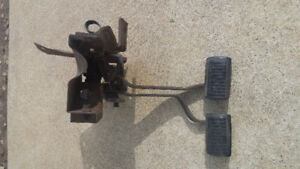 Mopar Abody  4 speed clutch pedals