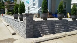 Stone patio & walkway installations by Two Guys Landscaping