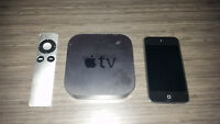 Apple TV2 + Ipod touch 3 à vendre