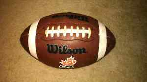 Wilson CFL original replica football. Cambridge Kitchener Area image 1