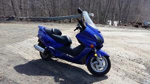 Honda reflex 250 moto scooter,échange pour même valeur