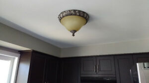 Matching Ceiling Light Fixtures