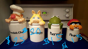 Cookie jar or canisters the Muppets rare