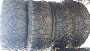 GOODYEAR WRANGLER DURATRAC LT265/70/R17 NEED GONE ASAP!!!