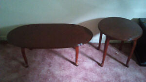 Queen Anne coffee and end table