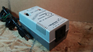SUPER 300WATT AUTOMATIC AC TO AC CONVERTER WITH SAFETY BREAKER