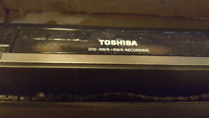 Toshiba  6 glass head VCR and DVD recorder