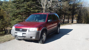 2001 Ford Escape SUV, Crossover***SNOW IS HERE****