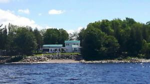 Beautiful Waterfront Home on Lake Utopia Near St George NB