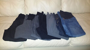 Maternity dress pants and jeans
