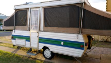 Jayco Swan Poptop camper Van