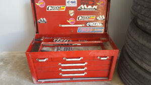 Beach tool box and misc tools