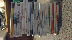 Wii Games - prices listed