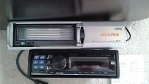 6 CD player Alpine Radio