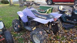97 polaris scrambler 500 4x4 with ownership Windsor Region Ontario image 3