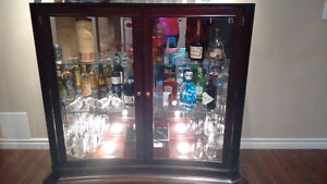 Bar/Display Cabinet