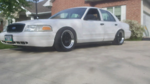 Lowered Crown Vic P71