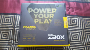 Zotac Magnus EN1060k Barebones Mini PC- New, Opened Box