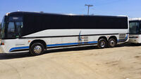 MAHOOD'S OF NORFOLK new 50 passenger limo coach  just arrived