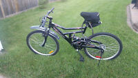 21 Speed CCM dual suspension mountain bike for sale