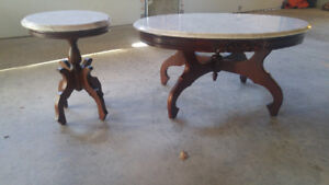 Stunning Marble Coffee & End Table