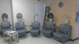 Salon Chairs and Contents for Sale!